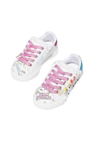 Sneakers bambina bianche Monnalisa kids | 12 | 8C801287170084