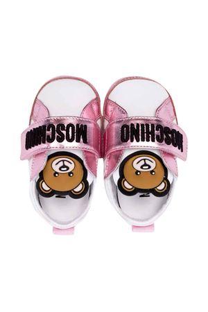 White sneakers unisex   MOSCHINO KIDS | 90000020 | 687111