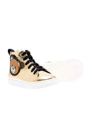 Sneakers metallizzate MOSCHINO KIDS   90000020   687481