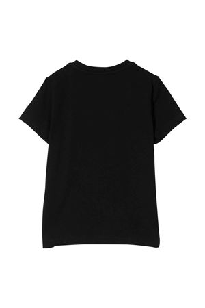unisex black t-shirt  MOSCHINO KIDS | 8 | H5M02QLBA2460100