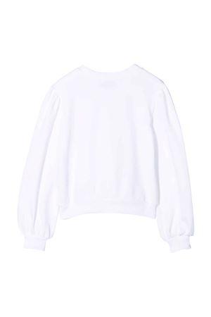 Maglione bianco unisex MOSCHINO KIDS | 7 | HDF03JLCA2310101