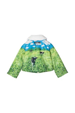 patterned down jacket  MOSCHINO KIDS | 13 | HDS03KL3A1084307