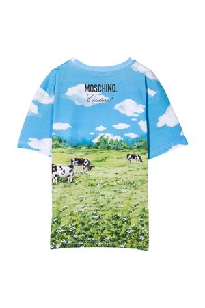 unisex maxi t-shirt  MOSCHINO KIDS | 5032307 | HLM02TLBA0184307