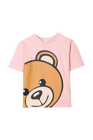 unisex pink t-shirt  MOSCHINO KIDS | 8 | HXM02XLBA1250209