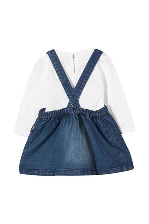 Salopette blu neonata MOSCHINO KIDS | 42 | MDK01WLDE0910063