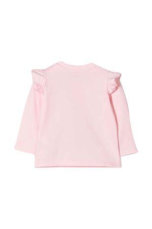 newborn pink t-shirt  MOSCHINO KIDS   8   MDO007LBA0151664