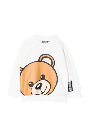 Newborn white sweatshirt  MOSCHINO KIDS   1169408113   MMF03NLDA1610063