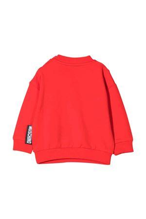Felpa rossa neonata MOSCHINO KIDS | 1169408113 | MMF03NLDA1650109