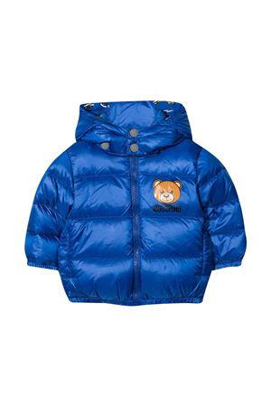 baby blue down jacket  MOSCHINO KIDS | 13 | MMS015L3A3240457