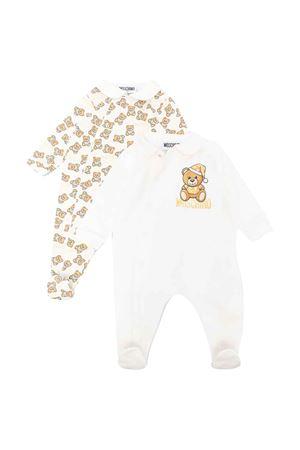 Moschino kids newborn rompers couple  MOSCHINO KIDS   75988882   MMY02ELDB6110063