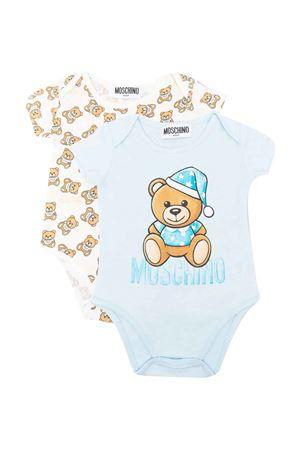 Set body blu neonato MOSCHINO KIDS | 90000026 | MTY017LAB2640304