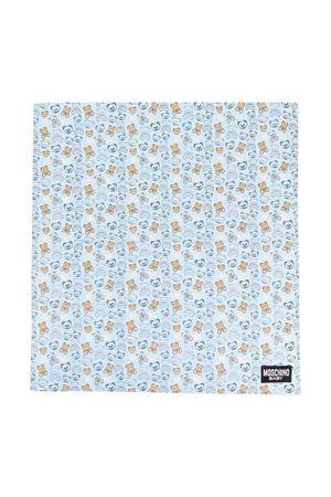 Coperta azzurra neonato MOSCHINO KIDS | 69164127 | MUB007LDB7283349