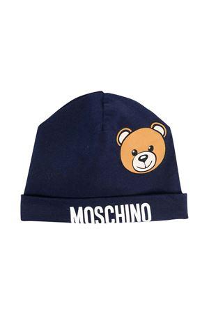 Berretto blu neonato MOSCHINO KIDS | 75988881 | MUX03WLDA1440016