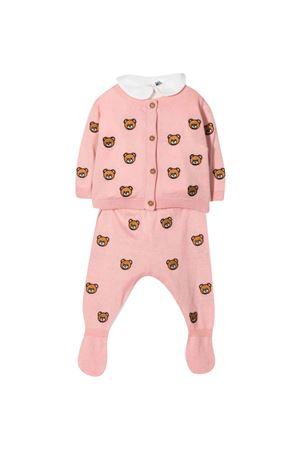 Completo rosa neonato MOSCHINO KIDS   5032246   MUY03PLHE1751647
