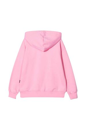 Pink sweatshirt teen with hood MSGM KIDS   -108764232   MS027705042T