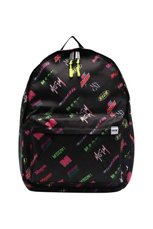 Black backpack unisex   MSGM KIDS   5032345   MS027728200