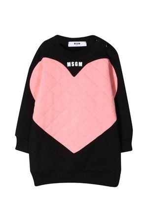 Black dress baby MSGM KIDS | 11 | MS027877110/63