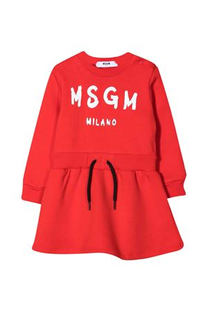 Red dress baby MSGM kids  MSGM KIDS | 11 | MS027881040