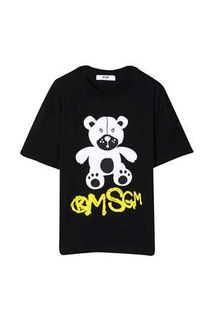 T-shirt nera teen MSGM KIDS | 8 | MS028725110T