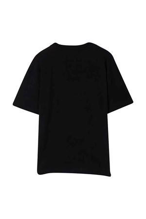 T-shirt nera unisex MSGM KIDS | 8 | MS028725110