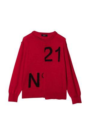 Maglione rosso unisex N°21 | 7 | N21194N01220N404
