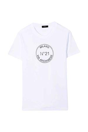 T-shirt bianca unisex N°21 | 7 | N21226N01530N100