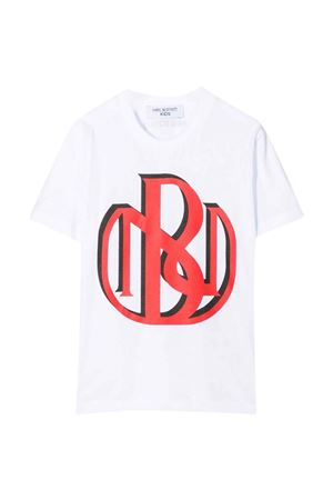 white teen  t-shirt  NEIL BARRETT KIDS | 8 | 028932001T