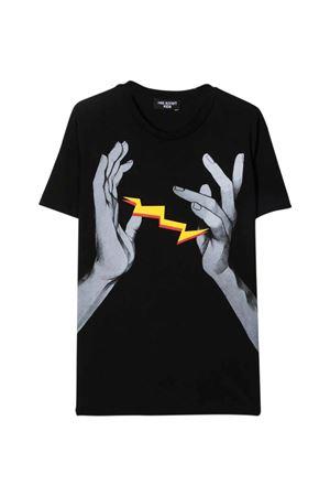 black t-shirt  NEIL BARRETT KIDS | 8 | 028935110