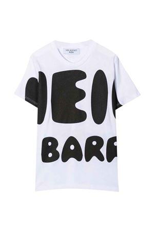 teen white t-shirt  NEIL BARRETT KIDS | 8 | 028937001T