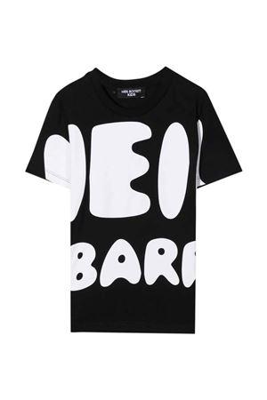 T-shirt nera teen NEIL BARRETT KIDS | 8 | 028937110T