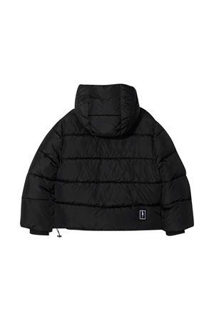 Black down jacket  NEIL BARRETT KIDS | 783955909 | 028941110