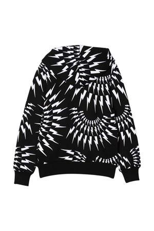 black sweatshirt  NEIL BARRETT KIDS | -108764232 | 028944110