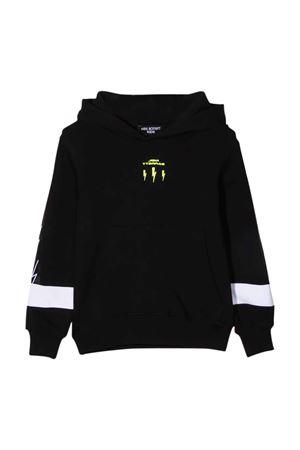 black sweatshirt  NEIL BARRETT KIDS | -108764232 | 028950110