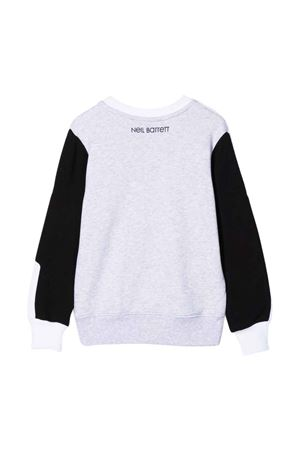 Neil Barrett Kids teen two-tone sweatshirt  NEIL BARRETT KIDS | -108764232 | 028954001/03T