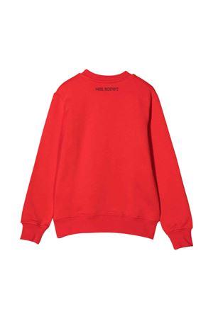 red teen sweatshirt  NEIL BARRETT KIDS | -108764232 | 028955040T