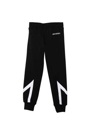 black jogger pants  NEIL BARRETT KIDS | 9 | 028962110