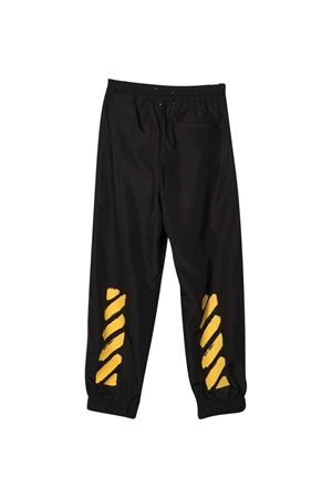 Black and yellow trousers off-white kids | 9 | OBCA001F21FAB0011018