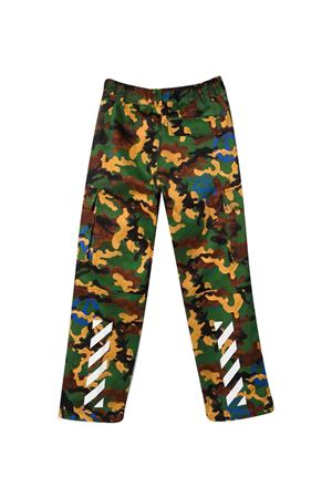 Pants with camouflage print off-white kids | 9 | OBCF001F21FAB0015645