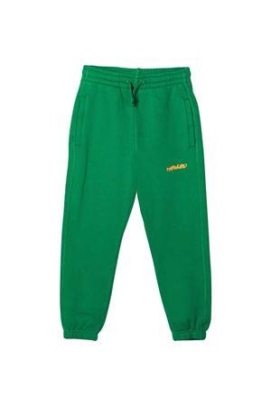 Pantaloni verdi con stampa arancione off-white kids | 9 | OBCH001F21FLE0045520