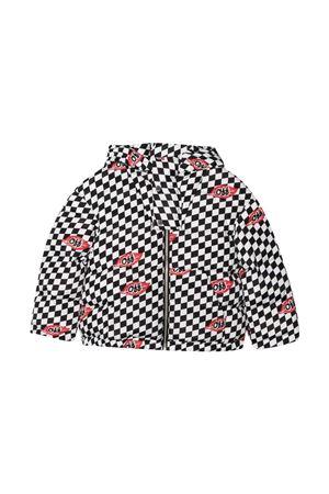 Checkered print down jacket off-white kids | 783955909 | OBEA001F21FAB0021001