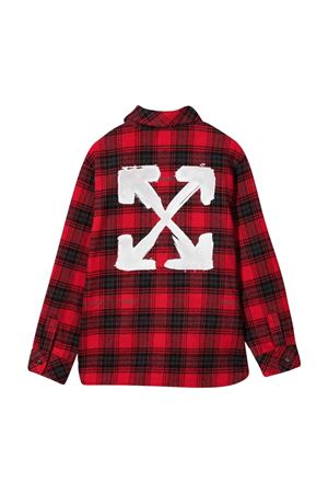 Black and red shirt off-white kids | 5032334 | OBGA001F21FAB0022501