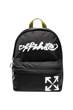 Backpack with white logo off-white kids | 5032345 | OBNB001F21FAB0011001