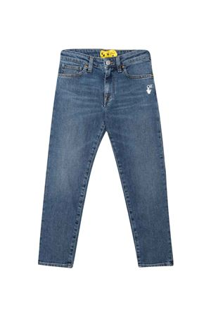 Blue jeans off-white kids | 9 | OBYA002F21DEN0024501