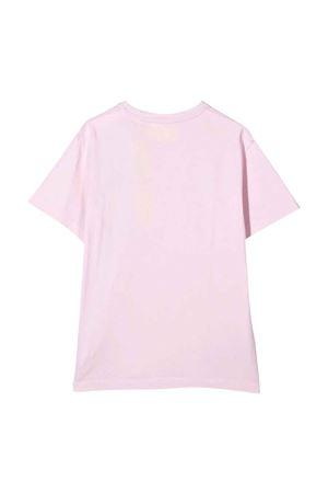 T-shirt rosa con logo off-white kids | 8 | OGAA001F21JER0013025