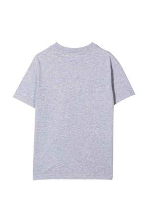 Grey t-shirt with print PALM ANGELS KIDS | 8 | PBAA001F21JER0010660