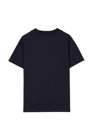 Blue t-shirt with print PALM ANGELS KIDS | 8 | PBAA001F21JER0014660