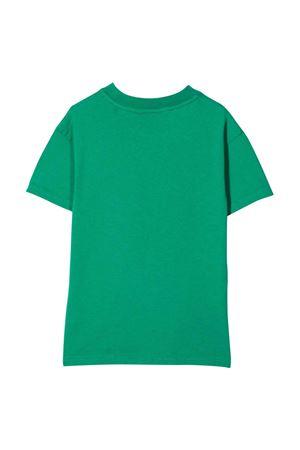 Green t-shirt with print PALM ANGELS KIDS | 8 | PBAA001F21JER0015560