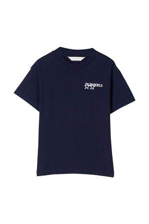 Blue t-shirt with print PALM ANGELS KIDS | 8 | PBAA003F21JER0014646