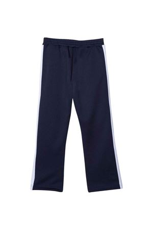 Blue trousers with white side band PALM ANGELS KIDS | 9 | PBCA001F21FAB0014601