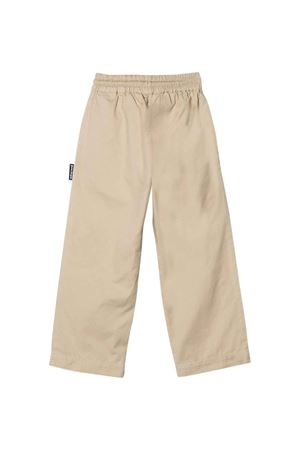 Dove gray trousers with print PALM ANGELS KIDS | 9 | PBCA004F21FAB0016046